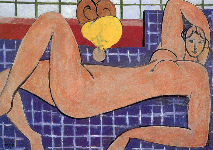 Matisse 'Large Reclining Nude' 1935
