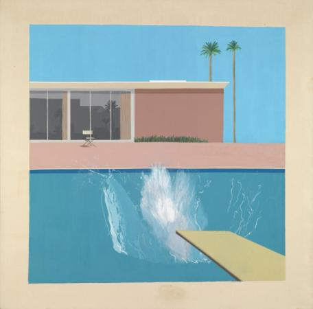 A Bigger Splash 1967 by David Hockney born 1937