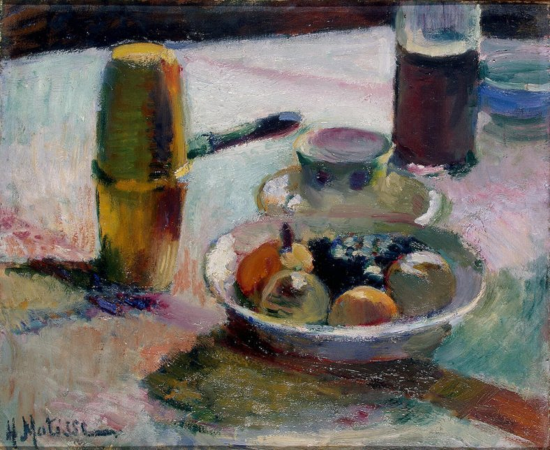 Matisse_-_Fruit_and_Coffeepot_(1898)
